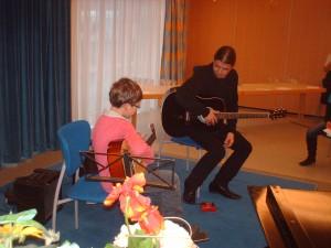 Louison, plus jeune guitariste