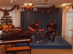 Lucas et Florent