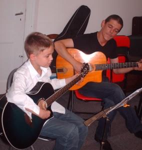 Florent Kirchmeyer, professeur de guitares