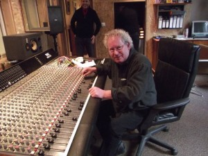 Benoît Seyller en studio avec Mojo