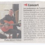 article concert 27 avril 2014